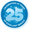 25 years of services